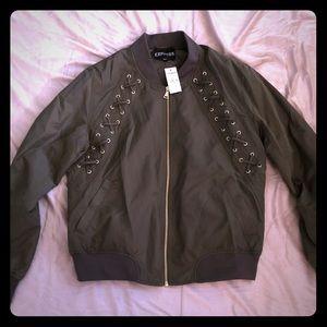 NWT Express bomber jacket